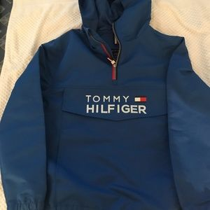 Tommy Hilfiger Windbreaker Blue S 12/14